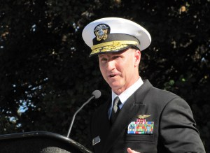 "Guest Speaker Admiral Mark Rich:  ""Veterans of Valley Forge Gave Us Our Country - Veterans of Today Preserve It."""