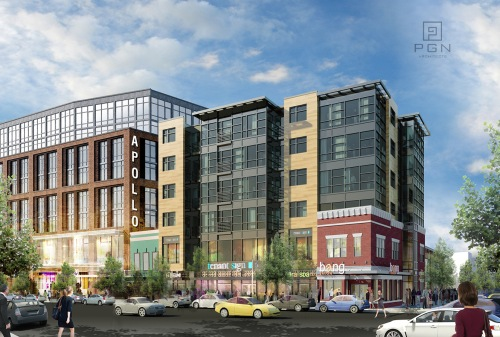 26 Condos and 2 Floors of Retail Planned for 645-654 H Street, NE