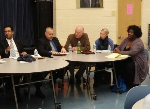 Omar Mahmud (Vice-Chair), 6A01; Matt Levy, 6A04; Chris Ward, 6A03; Stephanie Zinny (Treasurer), 6A06; Sondra Phillips-Gilbert, 6A07