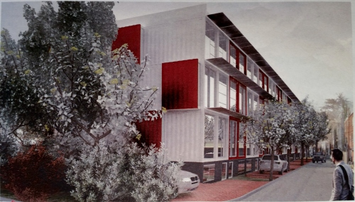 Travis Price Architect's Shipping Container Residential Units