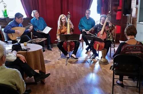The NOVA Consort, This Evening at The Corner Store