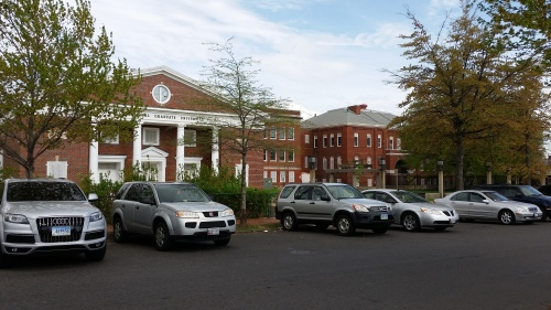 Buchanan School/International Graduate University, 13th and D Streets, SE, Across From Watkins Field and Backing Up to SE Safeway