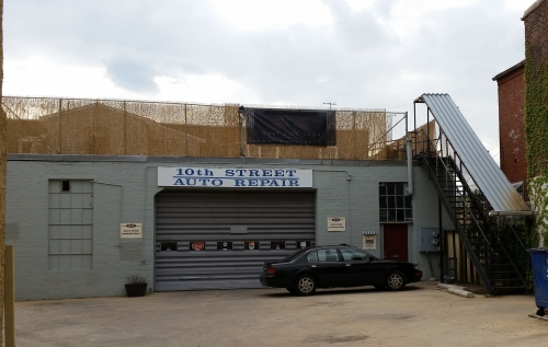 EastSide Yoga - Formerly Finley's Boxing Club - Occupies the Space Over Tenth Street Auto Repair at 518 Tenth Street, SE