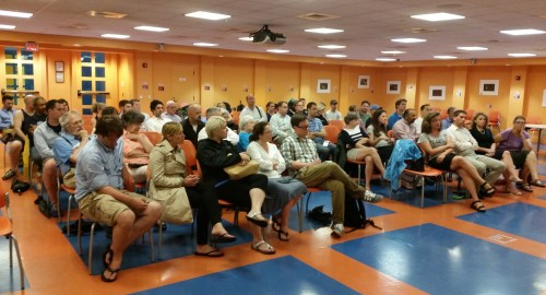 Residents turn out for community crime meeting last night