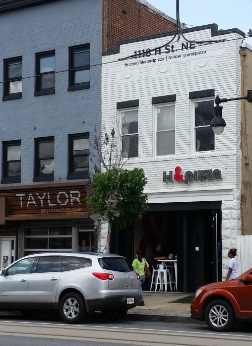 Steve Salis Opened the First &Pizza Outlet on H Street, NE, in 2012