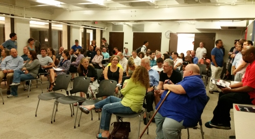 80 or so Near Northeast Residents Turn Out for Tuesday Night Crime Meeting