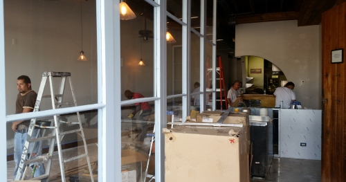 Monmartre - closed recently for renovations - returns to normal business on Tuesday, August 25