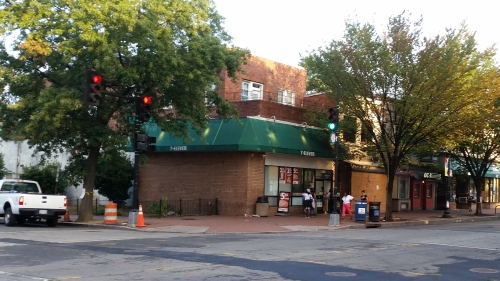 The 7-11 in the 400 block of  on Barracks Row was the scene of a flash robbery last  Thursday.