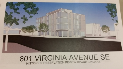 Historic Preservation Concept for new Condo/Retail Project on Lower Barracks Row
