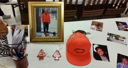 Memorabilia.  Will's Orange Hat and Ornaments sold to raise funds to oppose the Boys' Town Project.