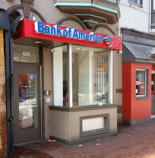 The Bank of America ATM on Barracks Row - 425 8th Street, SE