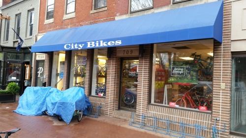 Barracks Row City Bikes Closes Sunday at 6:00pm