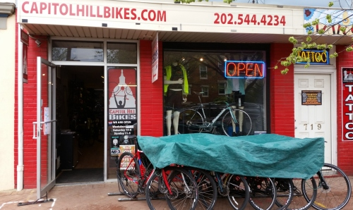 Capitol Hill Bikes Remains as the Only Shop on The Hill South of H Street, NE