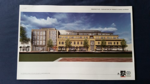 Latest design elements, perspective - Pennsylvania Avenue