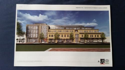 Latest design elements, perspective - Pennsylvania Avenue