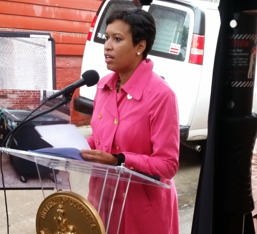 "Mayor Bowser announces ""Rat-riddance"" Initiative this morning"