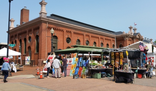 Eastern Market, Sunday morning, circa 10am