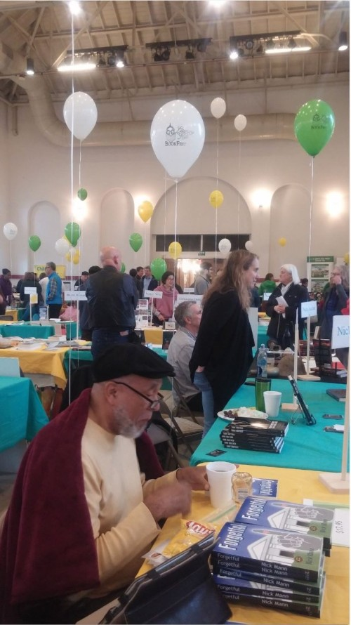 Capitol Hill Literary Book Fest, Sunday, May 1, North Hall Eastern Market