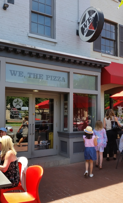 Spike Mendelsohn's We, The Pizza at 305 Pennsylvania Avenue, SE