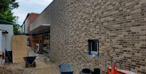 New CAG Headquarters and possible substance abuse recovery clinic at 201 15th Street, SE.  Projecet is scheduled for completion by the end of June.  Occupancy is anticipated in mid-September.