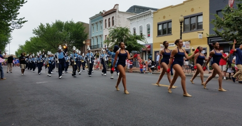 The Eastern High Marching Band lived up to its reputation as a city-wide crowd pleasing favorite