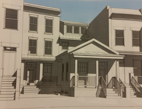SGA Architect's revised plan for preserving the Shotgun House