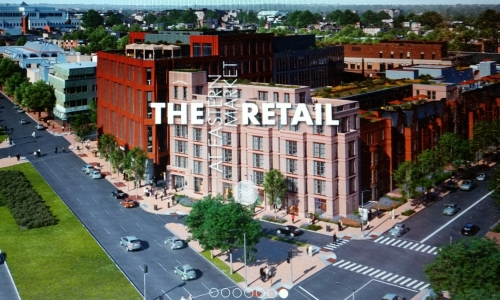 View of Hine Project Looking Northwest .  Image from At Eastern Market website - see link below