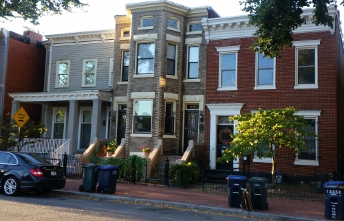 1239 E Street, SE, is four doors to the east of the famed Shotgun House scheduled for preservation and renovation as part of the SGA Development of the Frager's Garden Center site on Pennsylvania Avenue..