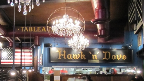 The Hawk & Dove is the flagship of Cervera's fleet of restaurants - now under old management.