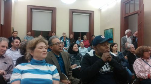 More than 50 residents turned out for the Monday night meeting.