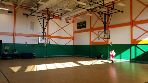 The Center has a full sized regulation high school basketball court, the use of which awaits an operator for the Center.