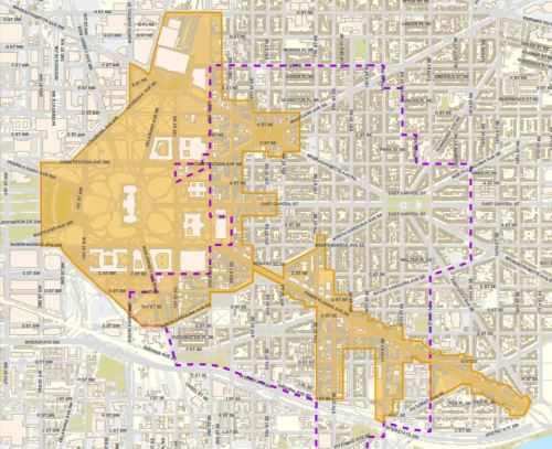 Capitol Hill Business Improvement District (BID) Map
