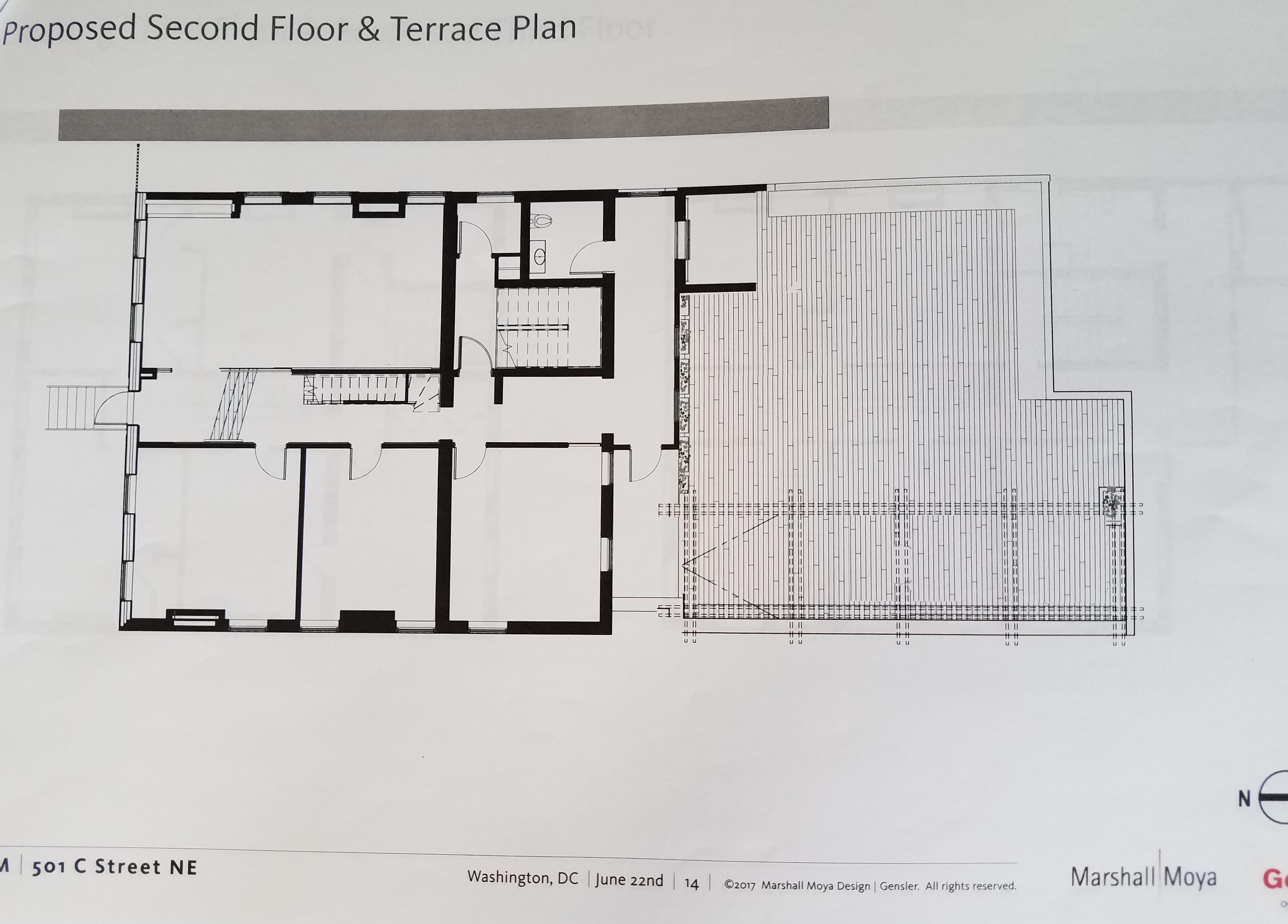 June 2017 capitol hill corner this shows the size of the proposed party deck 1betcityfo Images