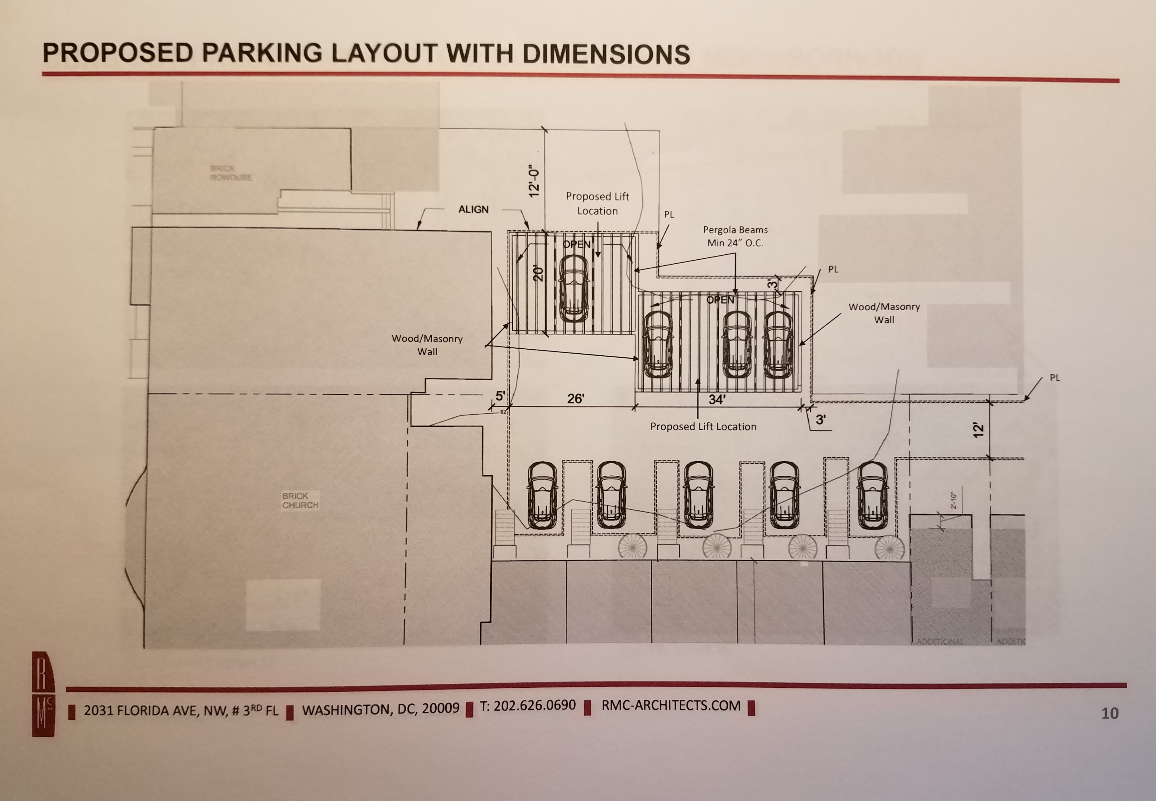 Battle Lines Drawn on Ebenezer Church Plan for Mechanical Parking – Parking Layout Plan