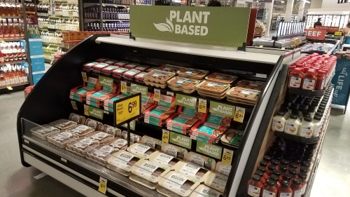 Plants disquised as meat.